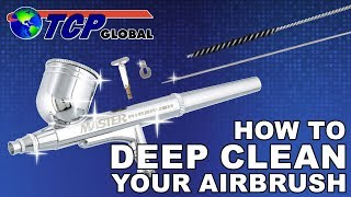 How to Deep Clean Your Airbrush