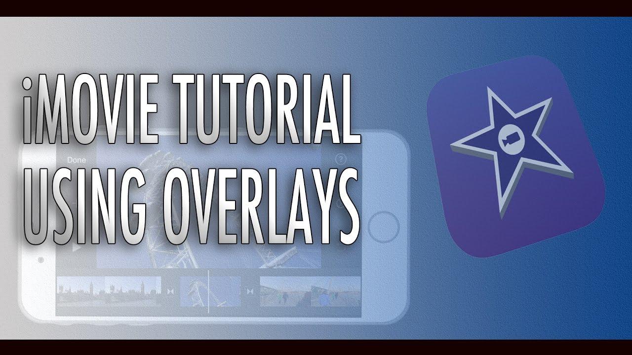 how to make a imovie ipad