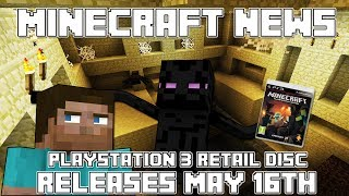 Minecraft News: Playstation 3 Retail BLU-Ray Disc Released Today