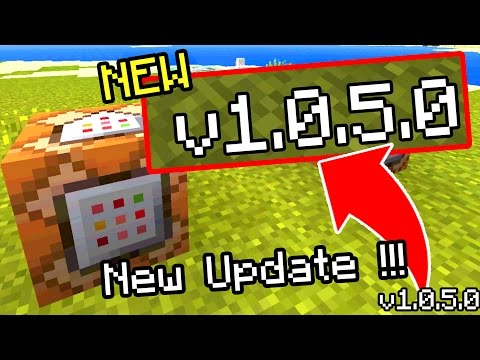 NEW Minecraft Pocket Edition 1.0.5 Update RELEASED!