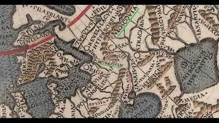 карта России 1507 года