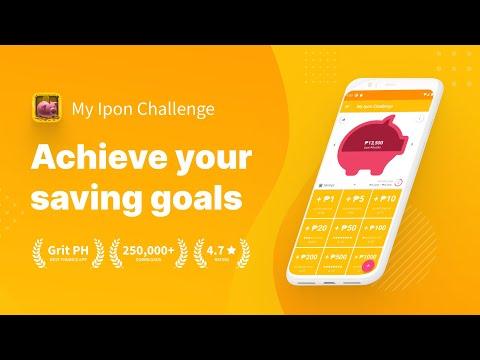 My Ipon Challenge Piggy Bank Savings App Apps En