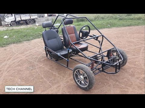 Too beautiful for a homemade car - Three Wheeled Motorcycle