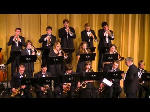 Swingin' Jingle Bells (Pierpont/Paul Cox) - Hartland High School Jazz Ensemble I - 10 Dec. 2013