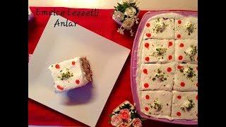 Beyaz Çikolatalı Mozaik Pasta. Sevdikleriniz etkilemek işte bu kadar kolay.
