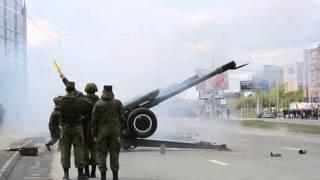 Салют 9 мая 2016 Новосибирск