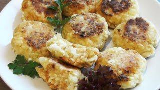 Капустные котлеты - вегетарианский рецепт