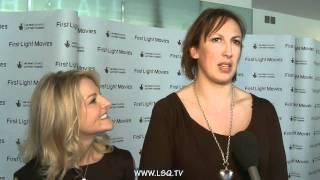 Miranda Hart and Sarah Hadland Interview - First Light Movie Awards 2011 - part 2