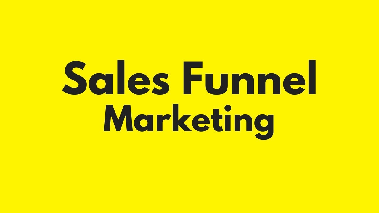 Sales Funnel Creator Can Be Fun For Everyone