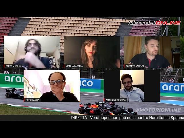 Verstappen non può nulla contro Hamilton in Spagna. Super Leclerc [DIRETTA]