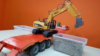 На Что Способен Экскаватор За 2900 Рублей ... Rc Excavator Huina 1550