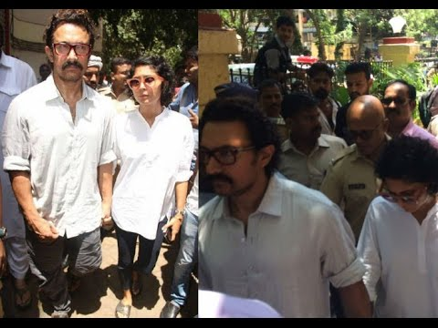 Aamir Khan's Reaction on Reema Laggo's Death | Dainik Savera