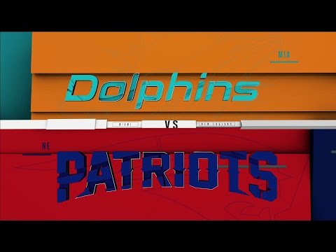 NFL on CBS - 2016 - Miami Dolphins vs New England Patriots Opens