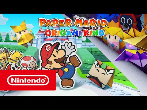 Paper Mario: The Origami King - Sortie le 17 juillet ! (Nintendo Switch)