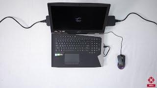 Asus ROG G703 Gaming Laptop First Look
