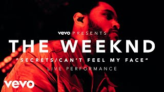 Смотреть клип The Weeknd - Secrets/CanT Feel My Face