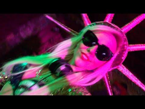 Dj Nastia Zoloto Live Video Trap Party, Hip-hop Season! Best Djane 2020 Led Female Dj Girl