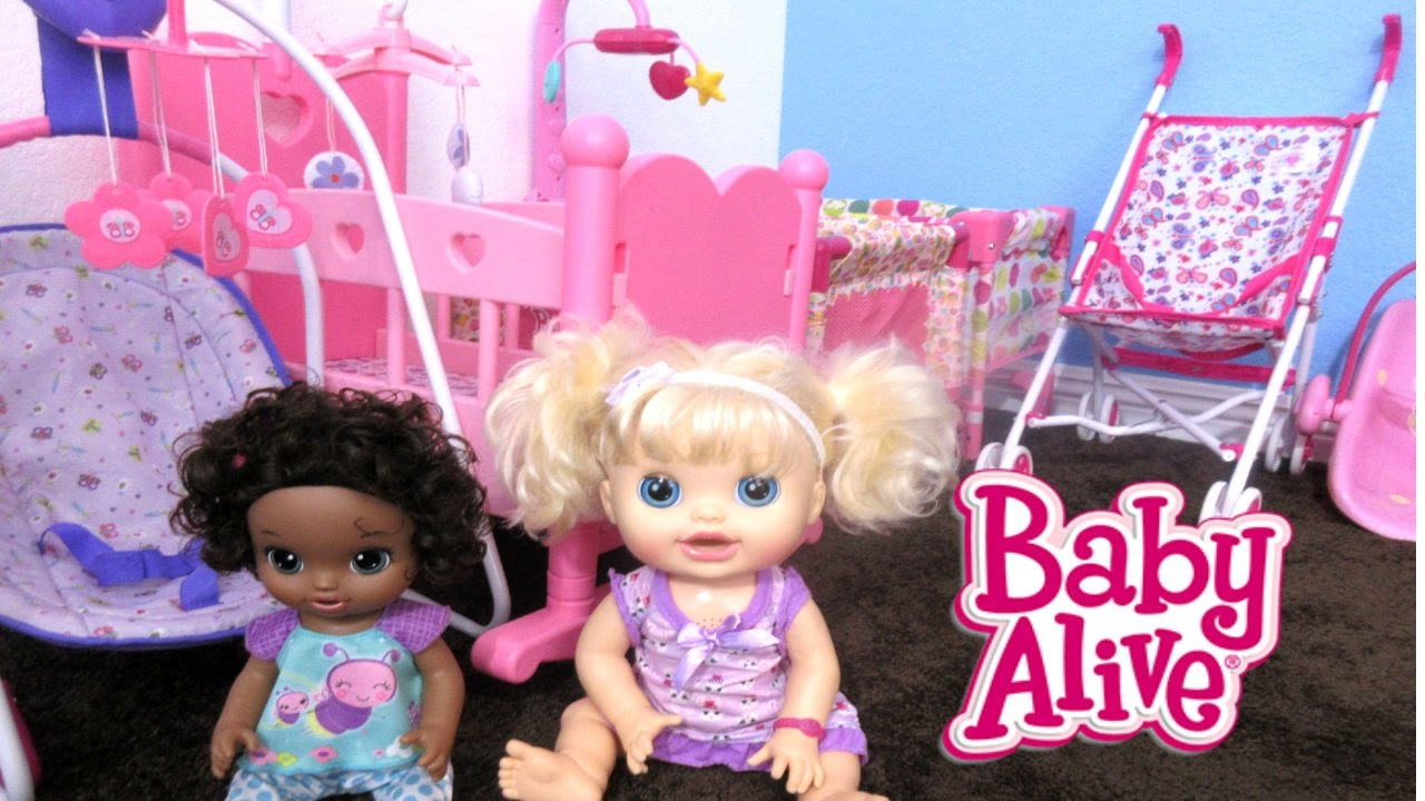 Baby Alive Nursery Tour And Bad Babies Youtube