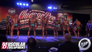 Open Bodybuilding Callouts | 2018 IFBB Chicago Pro
