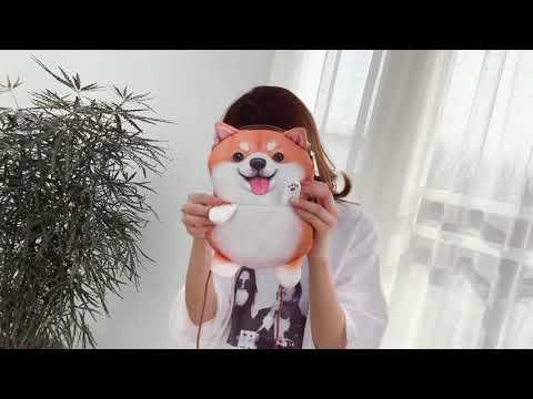 kirahosi 귀여운 크로스 백 강아지 숄더백 가방 6호 + 덧신 증정 AMucyhvr