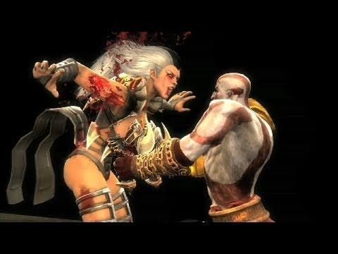 скачать мод на Mortal Kombat 9 на кратоса - фото 10
