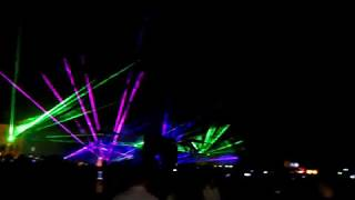 Лазерное шоу в Полоцке 02.09.2017
