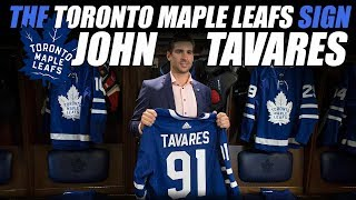 The Leafs Sign John Tavares