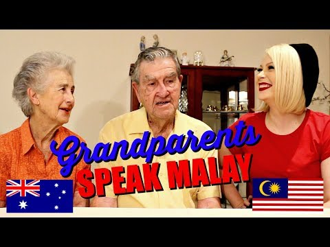 GRANDPARENTS CUBA CAKAP MALAY - Cassidy La Creme | #CassidyBoleh