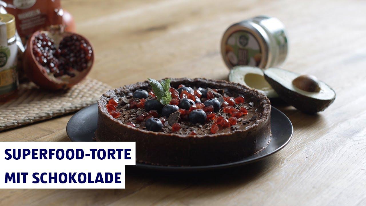 Superfood-Torte mit Schokolade – Backen mit HOFER