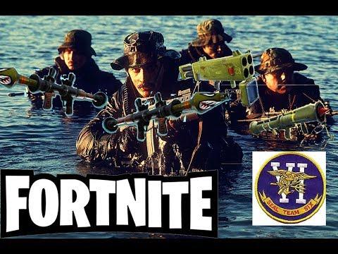 CRAZIEST ENDING EVER!!! Fortnite/Seal Team 6 [Demolition Squad Edition]