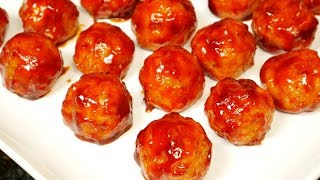 Sweet and Spicy Cocktail Meatballs Recipe