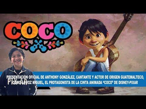 """Actor de origen guatemalteco protagoniza película """"Coco"""" de Disney-Pixar"""