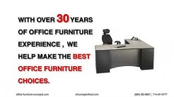 Office Furniture Concepts - One Stop for All Office Furniture Requirement