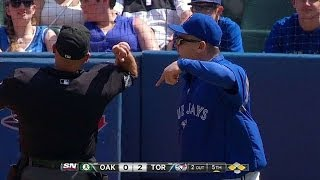 OAK@TOR: Gibbons is tossed after arguing review