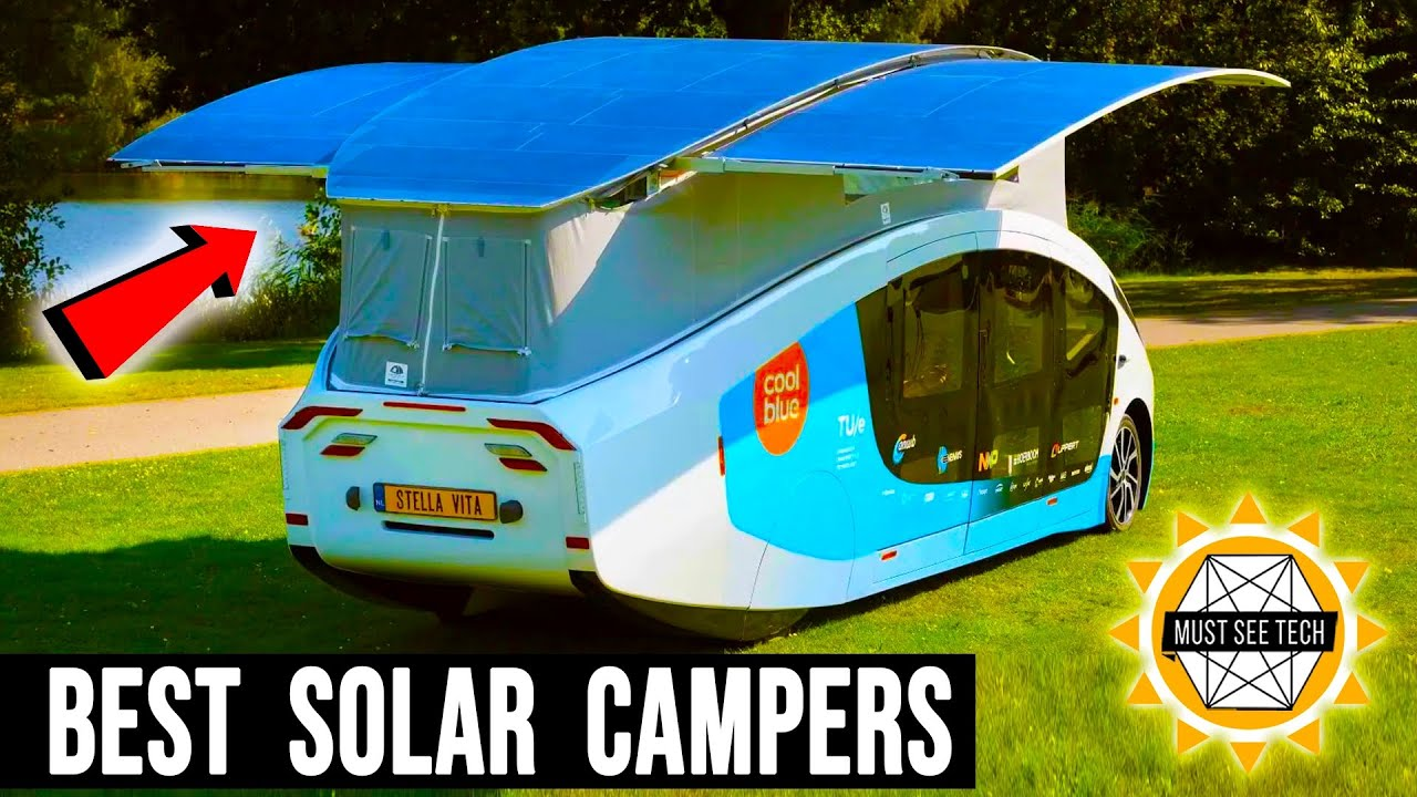 10 Campers with Largest Solar Panels for Limitless Electric Off-Grid Capabilities