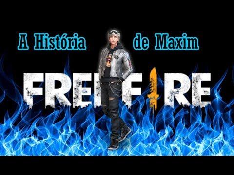 Maxim  Conta Sua Própria História FREE FIRE BATTLEGROUNDS