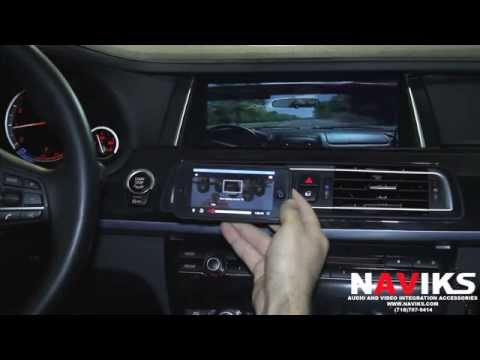 2013 BMW 7 Series F01 NAVIKS Video Integration Interface Apple TV + iPhone 5 Netflix Airplay