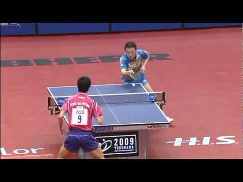 2009 WTTC: Joo Se Hyuk - Ma Lin (full match|short form)