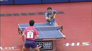 2009 WTTC: Joo Se Hyuk - Ma Lin (full match|short form)