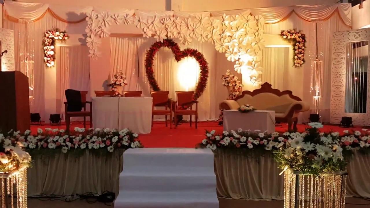 Wedding decoration in trivandrum at kottackattu convention center by wedding decoration in trivandrum at kottackattu convention center by team happy weddings junglespirit Images