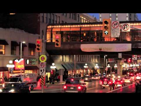 December evening in Ottawa downtown