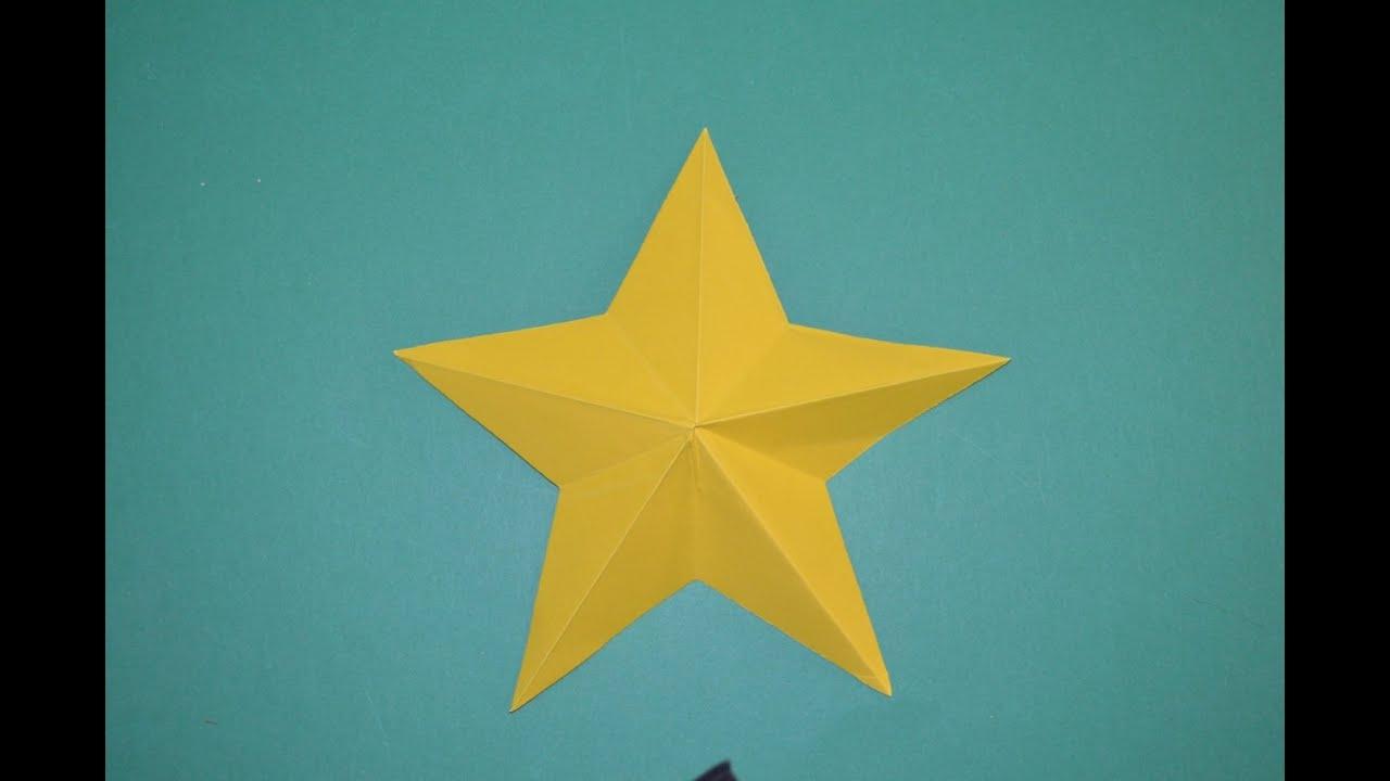 Como hacer una estrella de papel facil youtube - Estrellas de papel ...