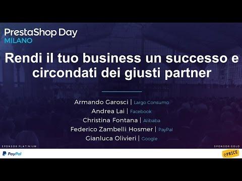 Rendi il tuo business un successo - Conferenza #PSDayMilano