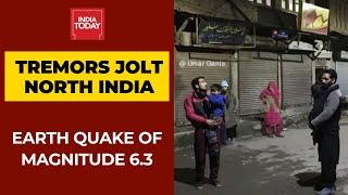 Earthquake Of Magnitude 6.3 Jolts Tajikistan; Strong Tremors Felt Across North India
