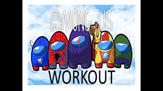 Download AMONG US WORKOUT PE FITNESS