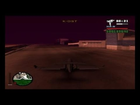 Grand Theft Auto: San Andreas Mission 82 - Freefall