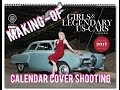 Cover Shooting with Carlos Kella for Girls & Legendary US-Cars Calendar 2017