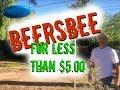 How to make Beersbee or Polish Horseshoes Game for less than $5.00
