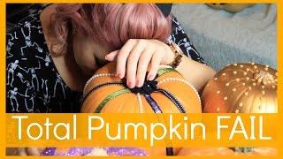 No Carve Pumpkin FAIL!! :( || Sprinkle of Glitter