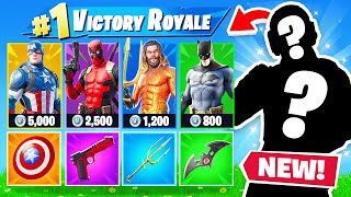 RANDOM SUPERHERO Skin CHALLENGE in Fortnite